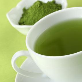 Печень любит зеленый чай