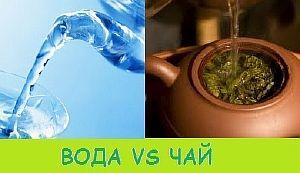 Вода или чай