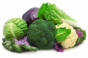 Печень любит крестоцветные овощи