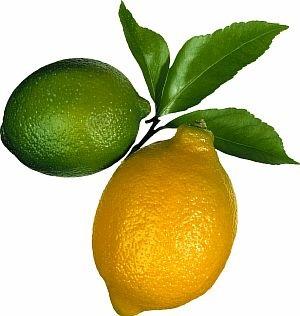 Печень любит лимон и лайм
