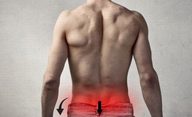 Болит спина ниже поясницы: главные причины