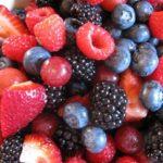 Красные и черные ягоды
