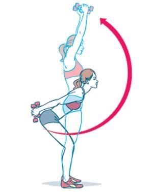 Упражнение для увеличения груди 3