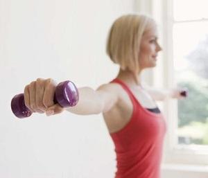 Упражнение для увеличения груди 2
