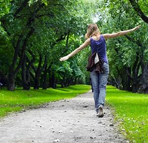 Прогулки для успокоения нервов