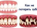 Как укрепить дёсна, если шатаются зубы