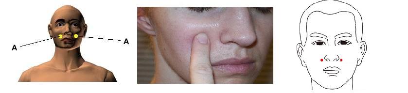 Дополнительный массаж при зубной боли