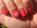 Шеллак на короткие ногти – фото дизайна и преимущества