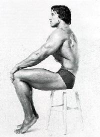 Упражнение вакуум живота на стуле