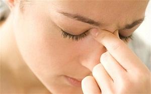 Проявление (боль) синусита