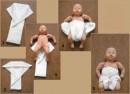 Как сделать марлевые подгузники для новорождённых?