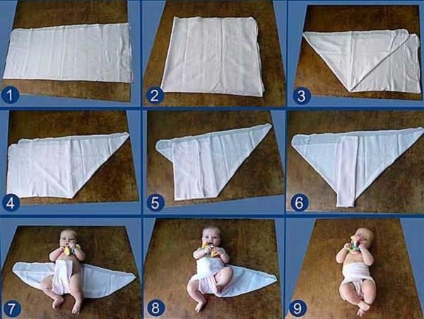 Как сделать памперс кукле