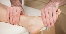 Растяжки и физиотерапия при бурсите