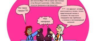 Гамма-ГТ и причины повышения