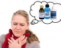 Хлоргексидин при болях в горле