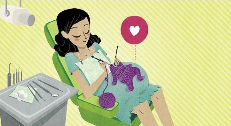 Как проводится лечение зубов при беременности во втором триместре