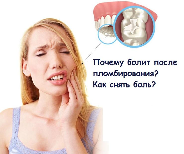 Почему болит мертвый зуб под пломбой при надавливании