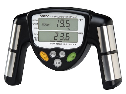 Анализатор количества жира в теле методом биоэлектрического сопротивления