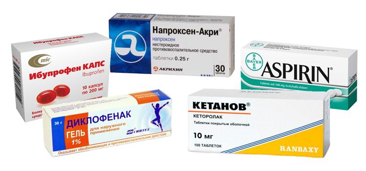 Противовоспалительные нестероидные препараты для лечения суставов: список