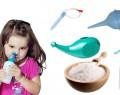 Cолевой раствор для промывания носа ребенку