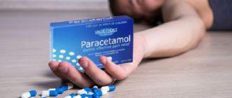 Передозировка парацетамолом