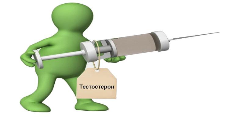 Инъекция тестостерона и секс